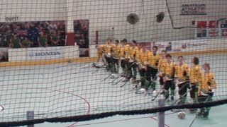 2013 FIRS InLine Hockey Worlds Junior Men Australia v Switzerlnd