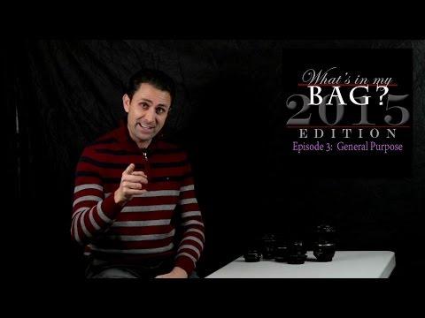 What's In My Bag? Episode 3: General Purpose Lenses