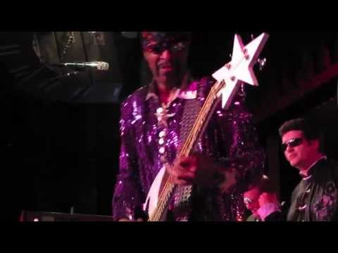 Bootsy Collins, Munchies/I'd Rather Be With You, BB King Blues Club, NYC 6-26-11