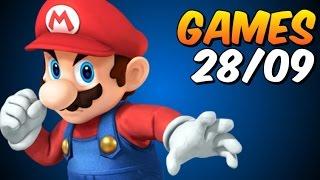 Forza / Shadow of Mordor / Super Smash Bros - GAMES semana 28/09