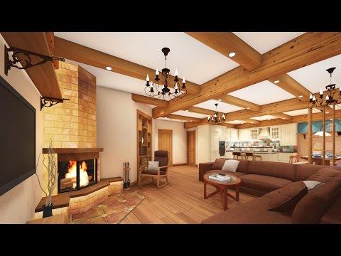 Видео презентация дизайн проекта интерьера дома