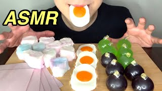 과즙 팡팡!! 한국 쿄호젤리, 계란젤리, 무지개 솜사탕…