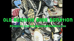 Old Running Shoe Donation