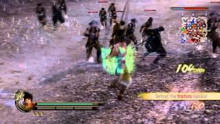 Musashi Miyamoto LVL 70 MAX Edo Castle Expert Difficulty FAIL Samurai Warriors 2 Xbox 360