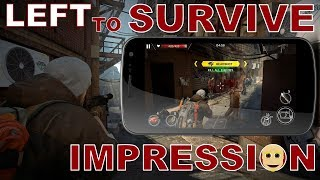 Left to Survive Android Gameplay Impression (Action)