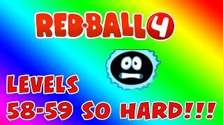 REDBALL 4 part #10, levels 58-59, OMG THIS IS SO HARD!!!