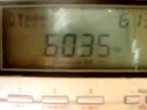 6.035 khz Bhutan Broadcasting Service - BHUTAN