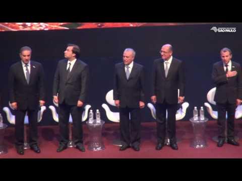 Alckmin recebe ministro libanês