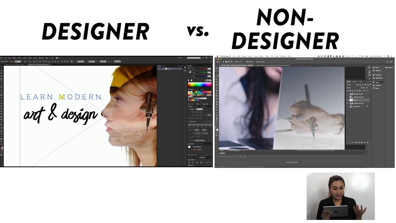 Designer vs  Non-Designer- Episode 1