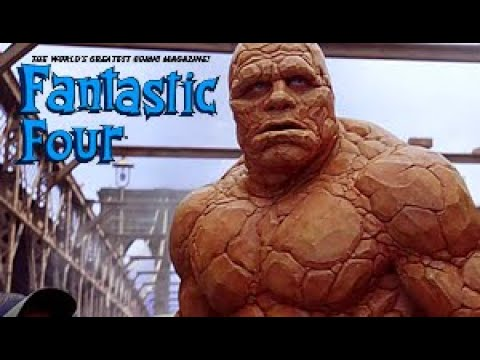 The Thing using his powers // Fantastic Four - 1&2