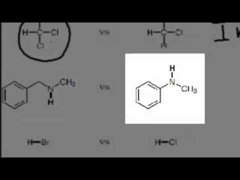 Lecture Problem: Comparing Acidity of Organic Molecules