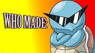 Who Made Pokemon?