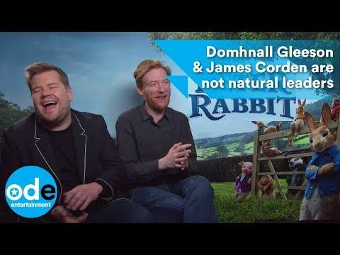 Peter Rabbit: Domhnall Gleeson & James Corden are not natural leaders