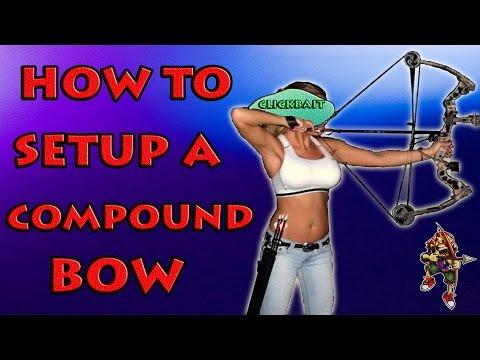 How To Setup A Compound Bow ( New Hoyt )