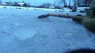 Зимняя рыбалка с.Боярка Новосибирская Область, Колыванский район).