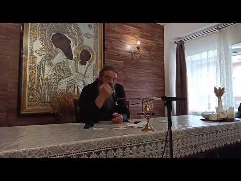 16.03.2020 Воскресная беседа с протоиереем Сергием Барановым