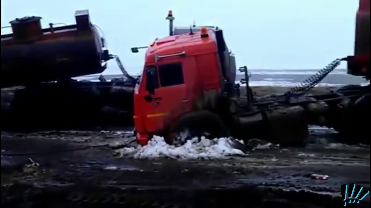 Камаз Бензовоз!Опыт за водителем!KAMAZ Fuel Truck!Experience behind the driver!