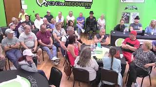 Live Support Group Racing for Recovery