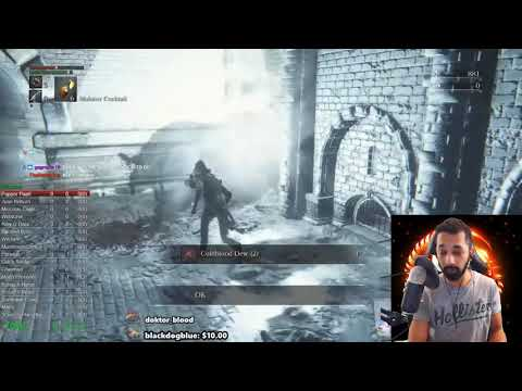 BloodBorne No Hit Commentary