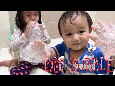 DIY Mainan Anak Murah Meriah dari Kaos Kaki dan Botol   Lets Play Bubble and be Creative Kids