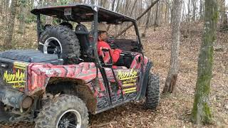My Dad driving the Wolverine X2 R-Spec