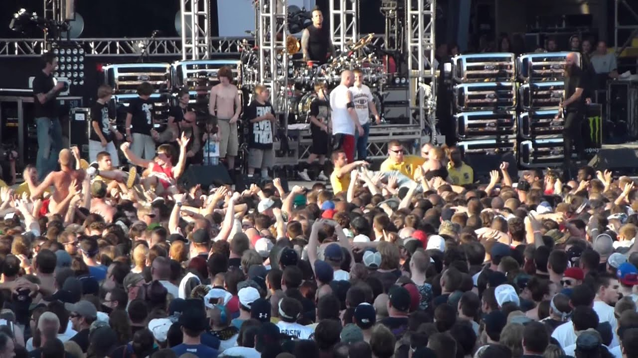 Five Finger Death Punch 5FDP White Knuckles Live @ Rock On The Range Columbus Ohio 5 19 2012