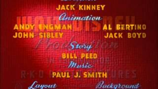 Californy er Buƨt! (1945) - recreation titles