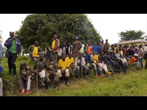 DR Congo ex-rebels found in Uganda refugee camp