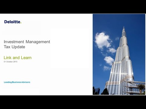 Link'n Learn - Investment Management Tax