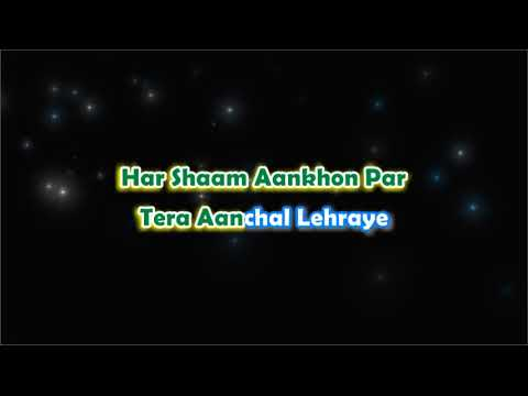 Pal Pal Dil Ke Paas - Unwind - Karaoke with Lyrics
