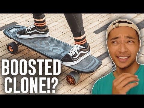 $400 Boosted Board Mini Copy - Woboard Electric Skateboard