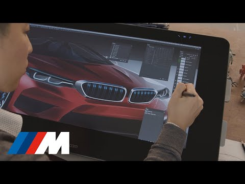 BMW M Magazine - How We Design Icons - Episode 1 Sketch.
