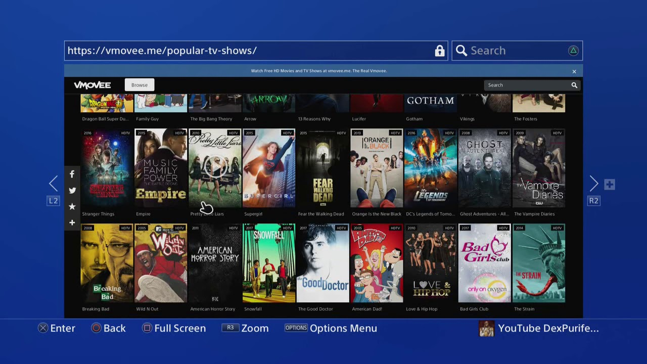 Download PS4 FREE MOVIES/TV SHOWS (DITCH NETFLIX)