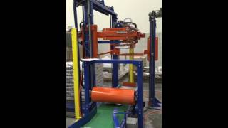 Solutech PAL-150 palletizer for food industry