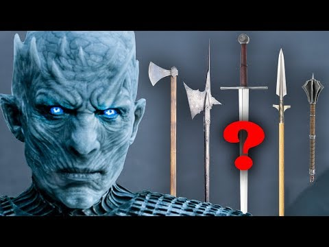 best-historical-weapons-to-fight-white-walkers,-game-of-thrones:-fantasy-re-armed