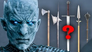 Best historical WEAPONS to fight WHITE WALKERS, Game of Thrones: FANTASY RE-ARMED