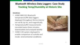 Onset- Bluetooth Smart Data Logging with HOBOmobile for Android