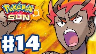 Pokemon Sun and Moon - Gameplay Walkthrough Part 14 - Kiawe