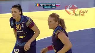 Romania X Russia WOMEN'S EHF EURO 2018 QUALIFICATION Full Match