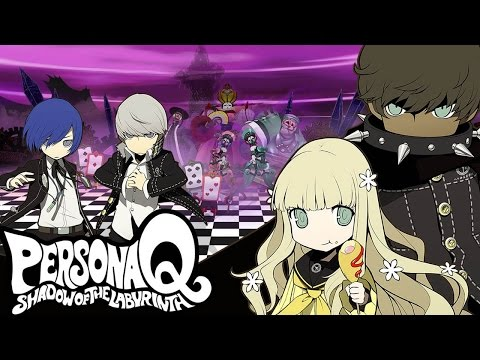 CGR Undertow - PERSONA Q SHADOW OF THE LABYRINTH Review For Nintendo 3DS
