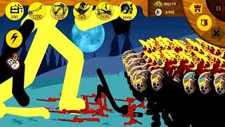 HAck Code Stickwar: Super Stickman GOLDEN VS 999999 GRIFFON Max Point HP I Stick War Legacy special screenshot 1