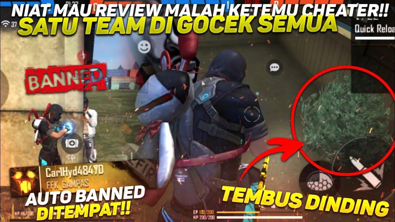 NIAT MAU REVIEW MALAH KETEMU CHEATER TEMBUS DINDING!! AUTO BANNED DITEMPAT‼️