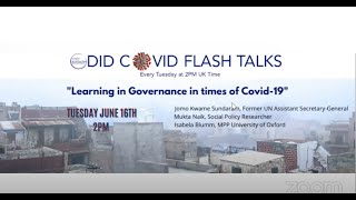Learning in Governance in times of COVID-19