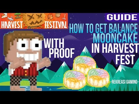 Access youtube how to get balance moon cake in harvest festival growtopia with proof forumfinder Images