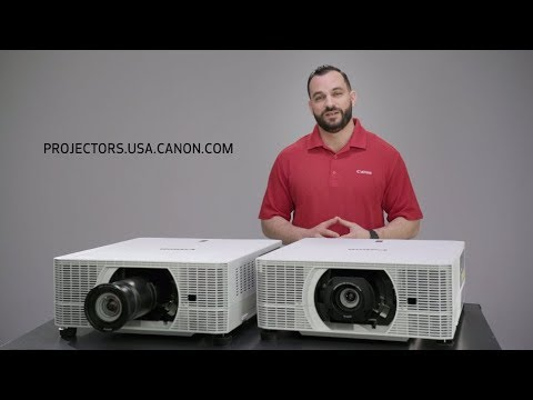 Introducing the Canon REALiS LCOS Projectors