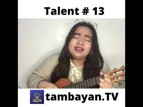 Tambayan TV Got Talent I Lorraine Andrea P. Ordonio