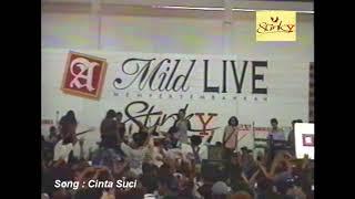 Stinky konser jadul live CINTA SUCI