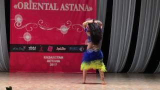 Sagadat Adiya in Oriental Astana 2017