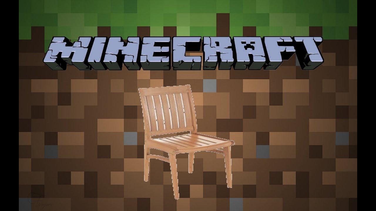 Como fazer cadeiras no Minecraft (sem mods)  YouTube -> Como Fazer Banheiro Moderno No Minecraft