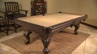 St. Charles Pool Table Billiards Package 800-641-9367